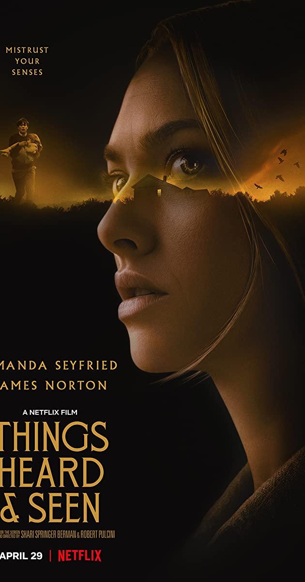 Things Heard & Seen (2021): แว่วเสียงวิญญาณหลอน