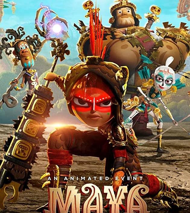 Maya and the Three TV Mini Series (2021): มายากับ 3 นักรบ