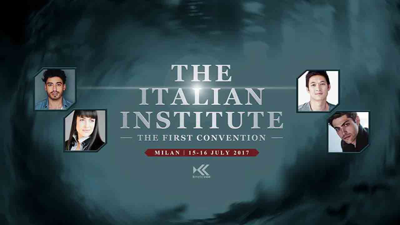 The Italian Institute: la prima convention italiana di Shadowhunters!