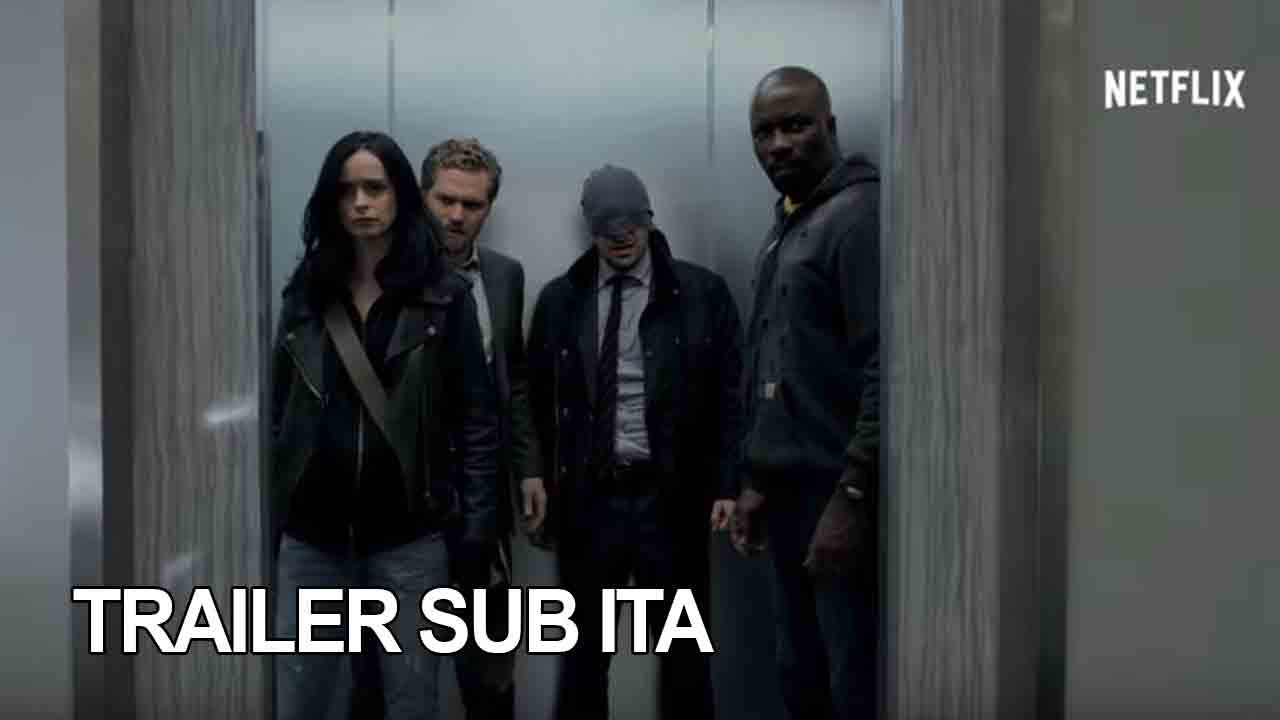 Trailer ufficiale di Marvel's The Defenders (Comic-Con)