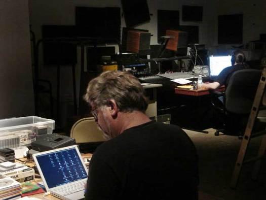 David Dunn and intern, Ed Shannon at isaw, 08/20/08