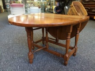 Sample Drop-leaf Table