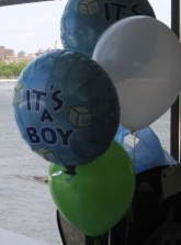 Bunch of Balloons for Boy Baby Shower