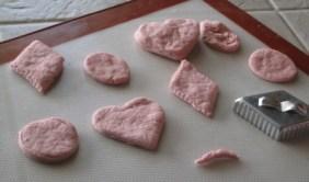 Making playdough - fun shapes 2