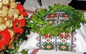Bride and Groom Wreaths