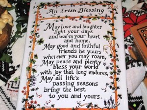 Traditional Irish Blessing for the Newlyweds