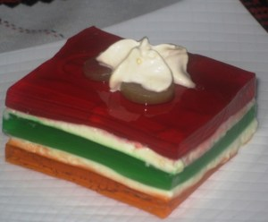layered jello