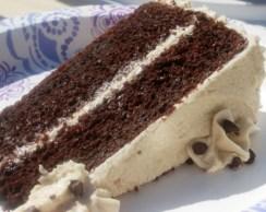 Chocolate cake - serving piece 2