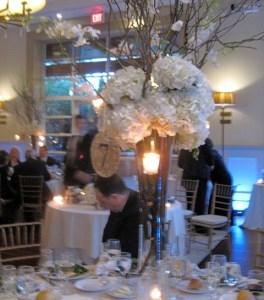 Guest table centerpieces