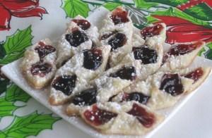 Kolachky bowtie cookies
