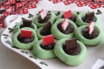 Peppermint Andes cookies