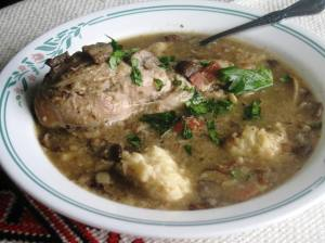 chicken stew with dumplings 1