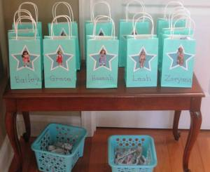 American Girl Doll party favors
