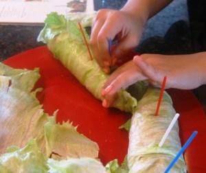 Lettuce wraps 2