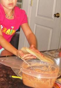 Preparing Quesadillas
