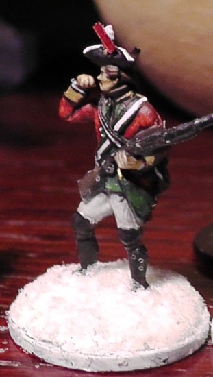 Musketeer of 1st Noel Foot Guards