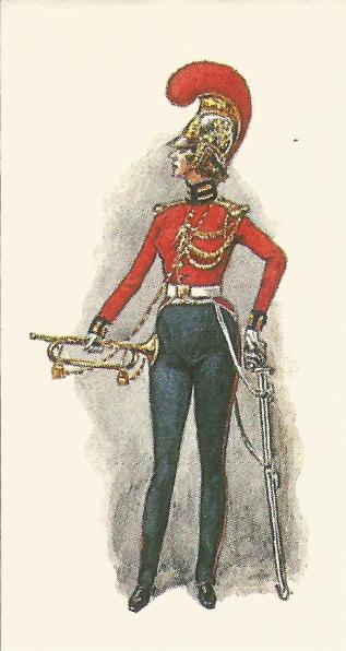 British Dragoon Trumpeter