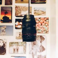 Camera-themed cafe