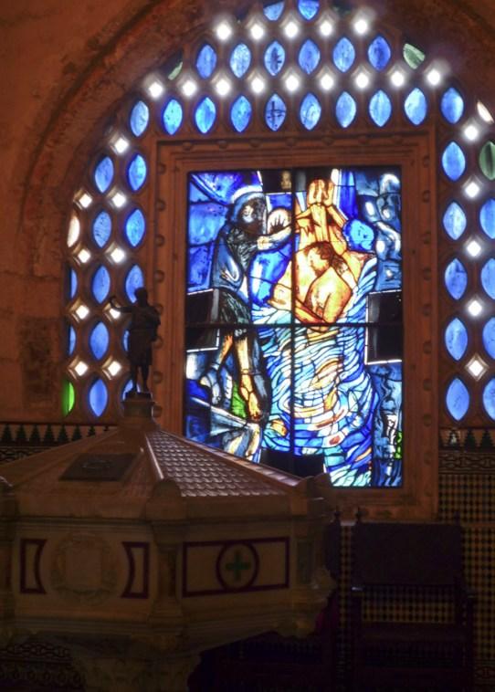 Baptismal Fount at Cathedral Santa Maria la Menor Santo Domingo sm2