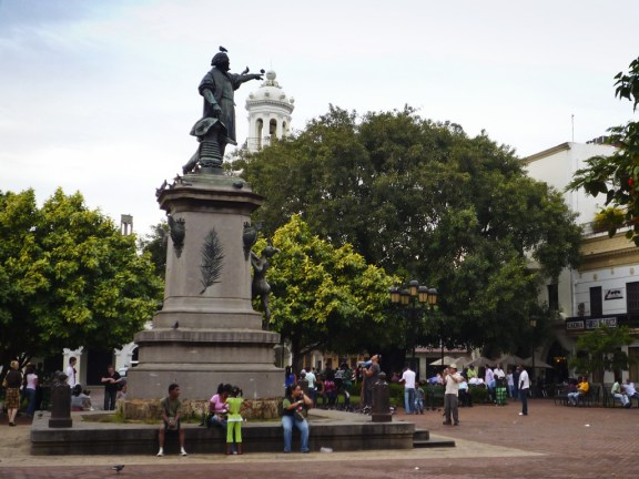 Historic places of zona colonial in Santo Domingo