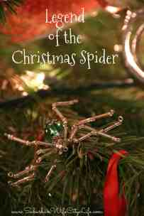 The Legend of the Christmas Spider