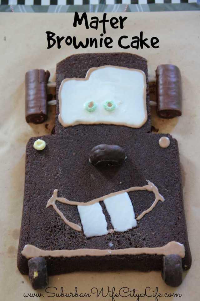 Mater Brownie Cake
