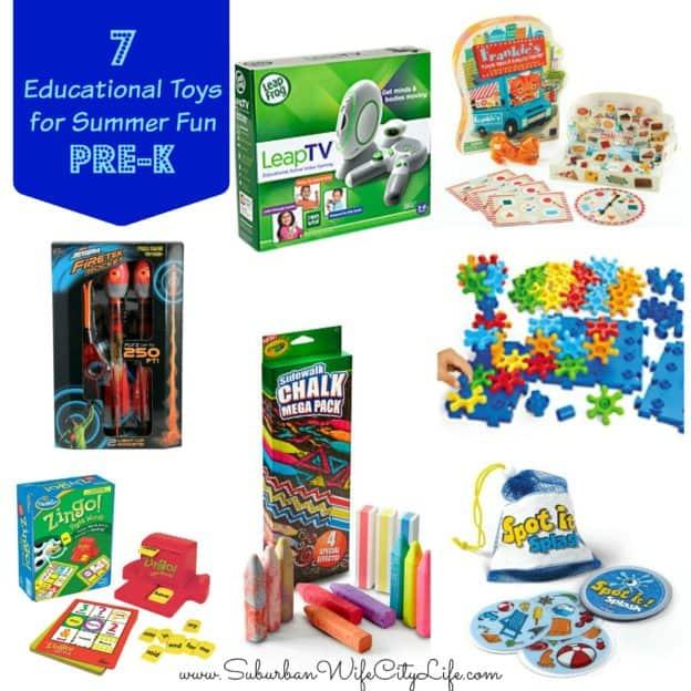 7 Educational games for PreSchool