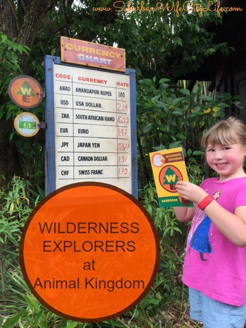 Wilderness Explorer at Animal Kingdom
