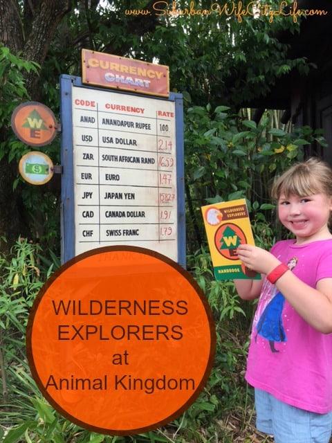 Wilderness Explorer at Animal Kingdom