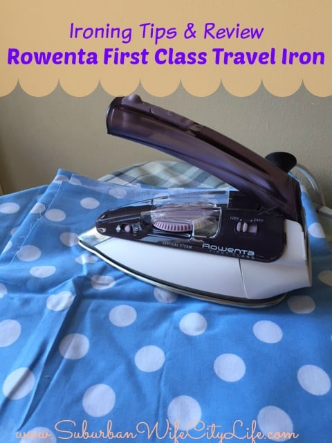 rowenta first class travel iron manual