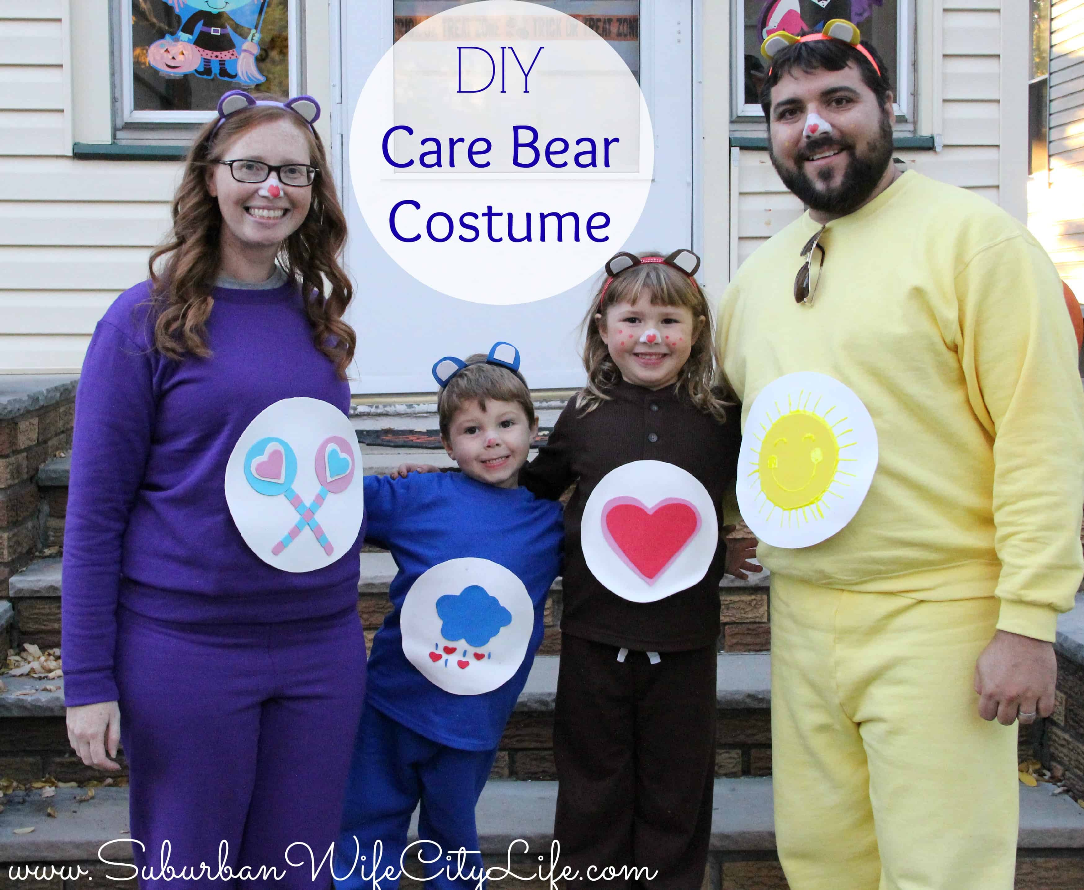 Diy Care Bear Costume Suburban Wife City Life