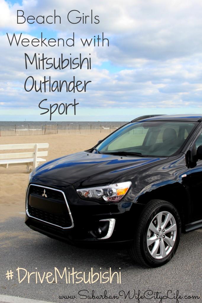 Beach Girls Weekend with Mitsubishi Outlander Sport