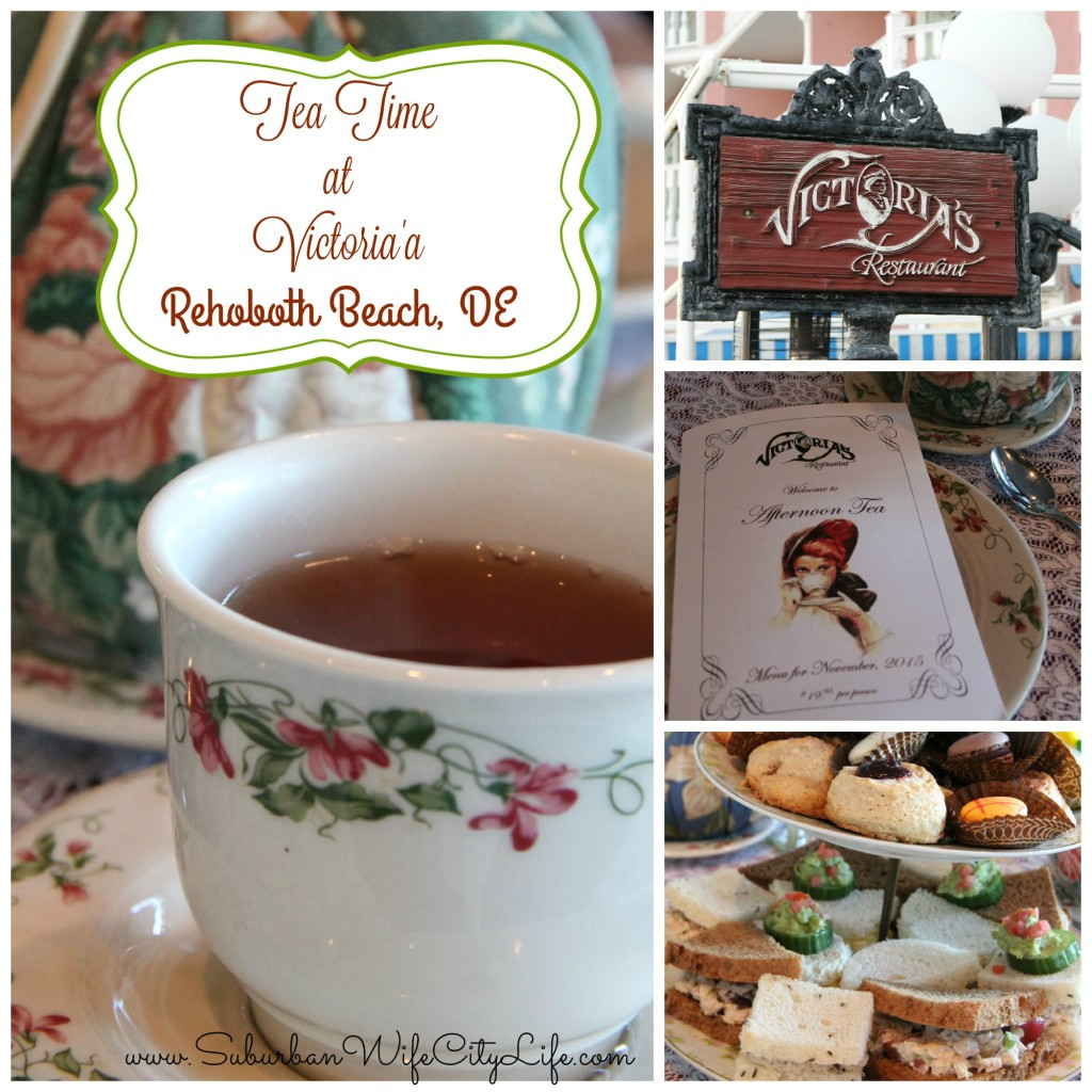 Tea Time at Victoria's