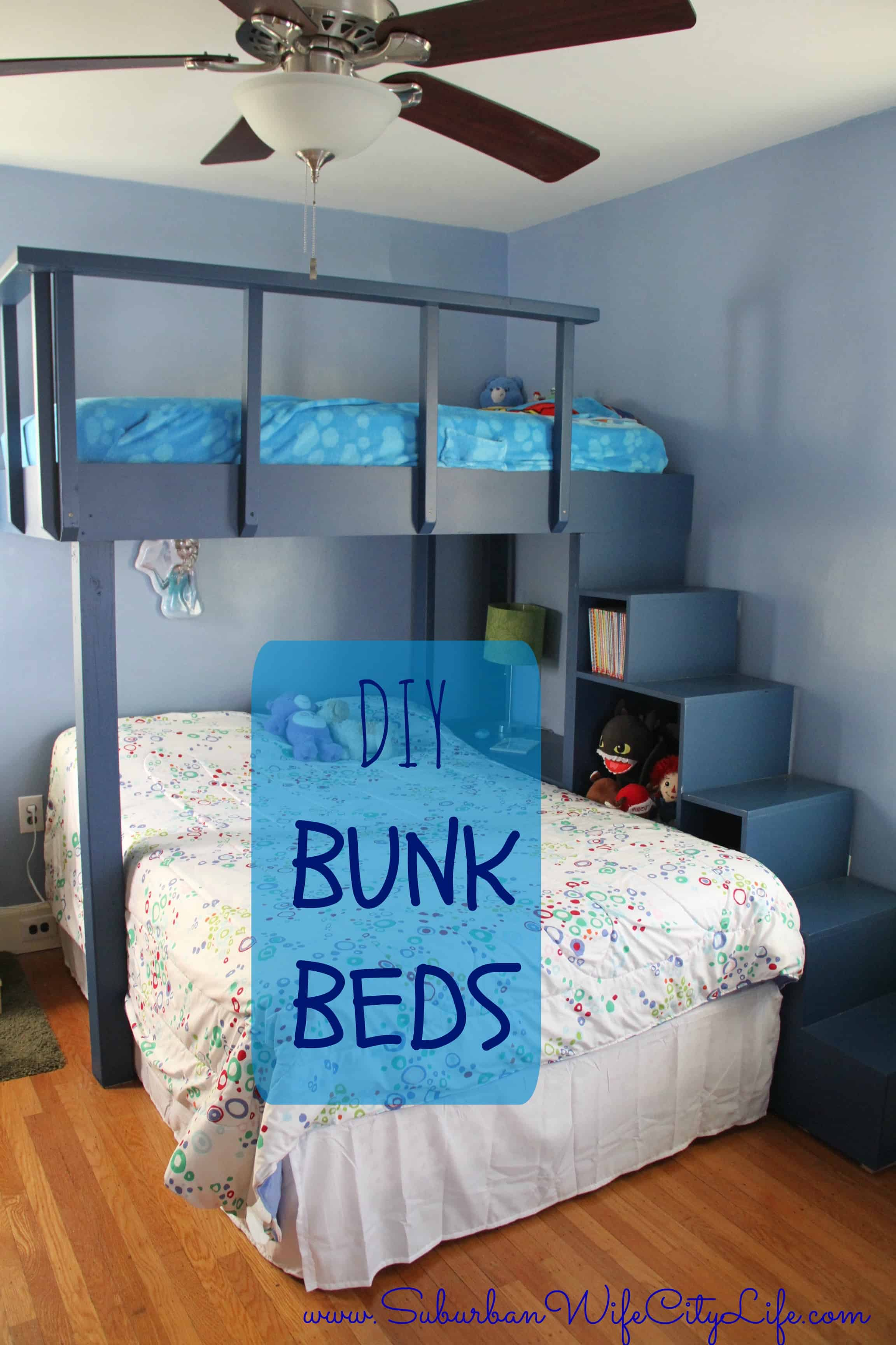 How To Build A Bunk Bed.Cozy Simple Cheap Bunk Beds ...