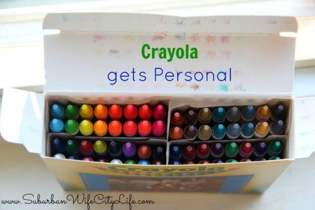 """""""Crayola gets personal"""""""