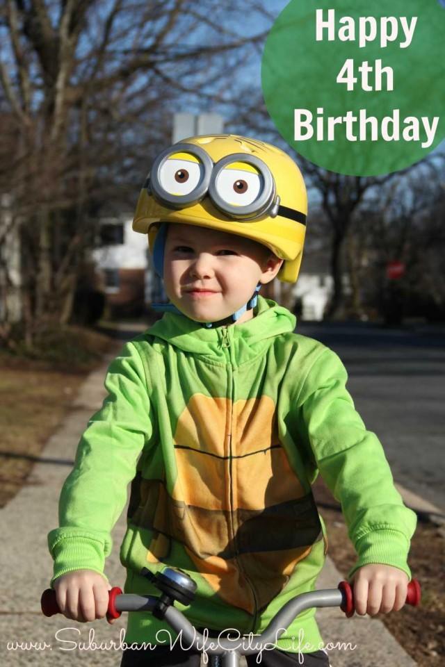 Happy 4th Birthday Camden