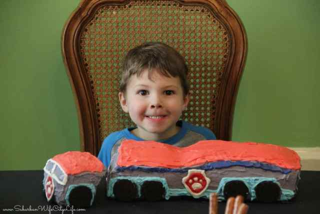 Happy Birthday Paw Patroller Cake