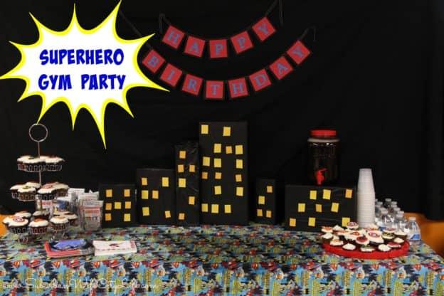 """Superhero gym party"""