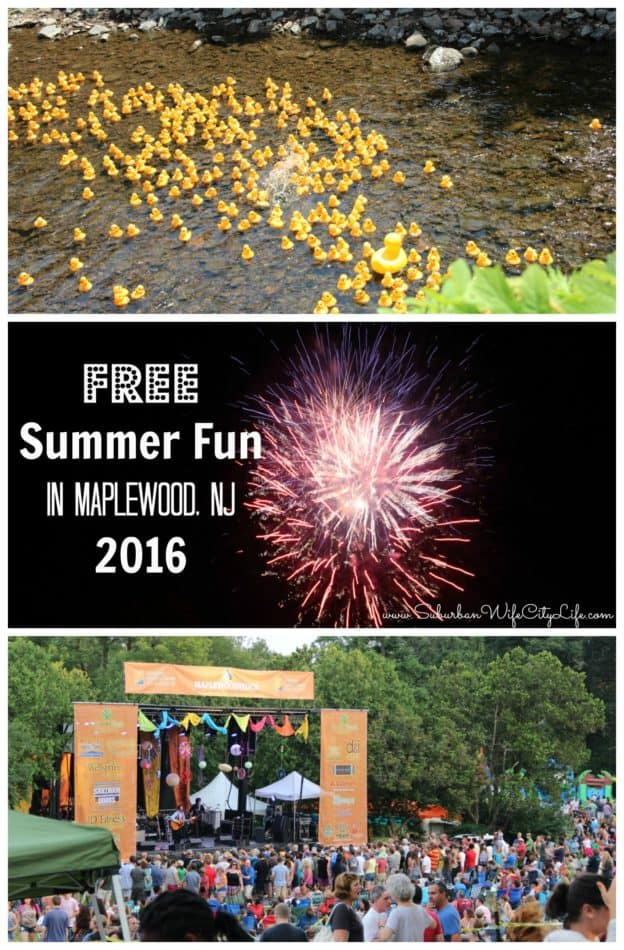 Free Summer Fun Maplewood, NJ 2016