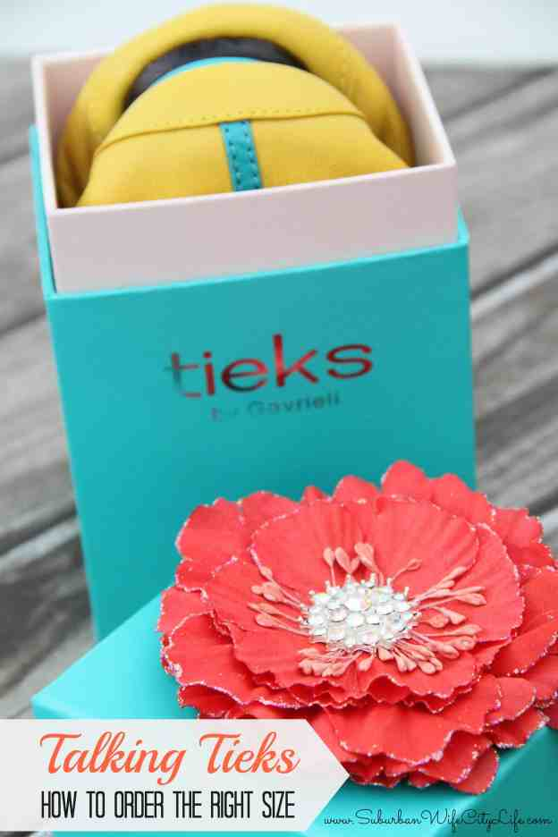 How to order the right size Tieks