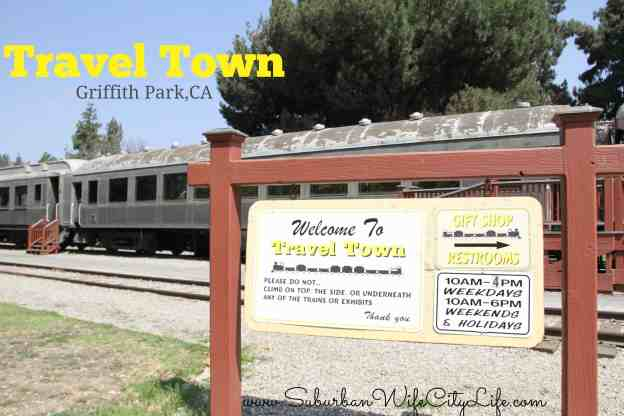 Travel Town Griffith Park