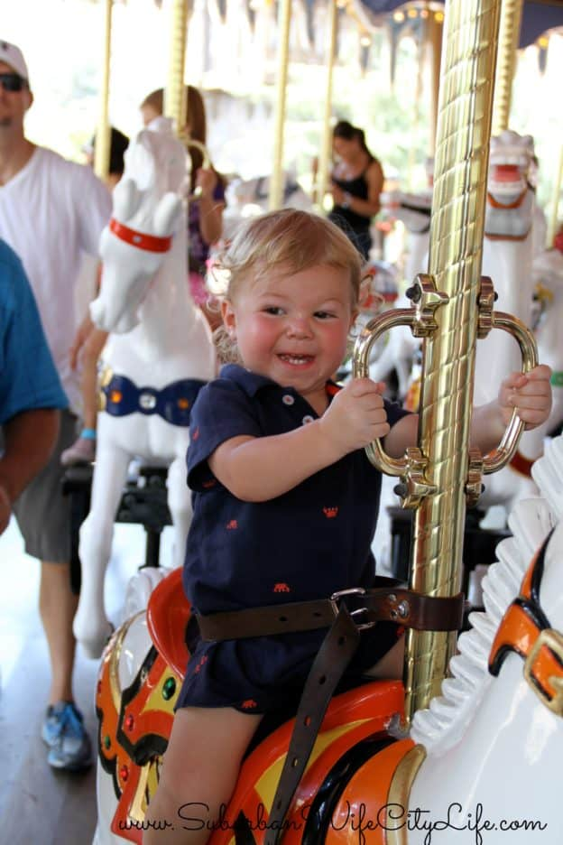 King Arthur's Carrousel is for all ages