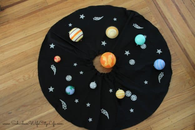 Solar System Costume Layout