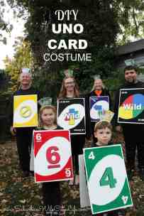 DIY UNO Card Costume