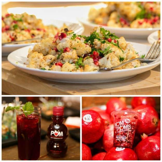 Pomegranate Fun- Parmesan Cauliflower Side Dish