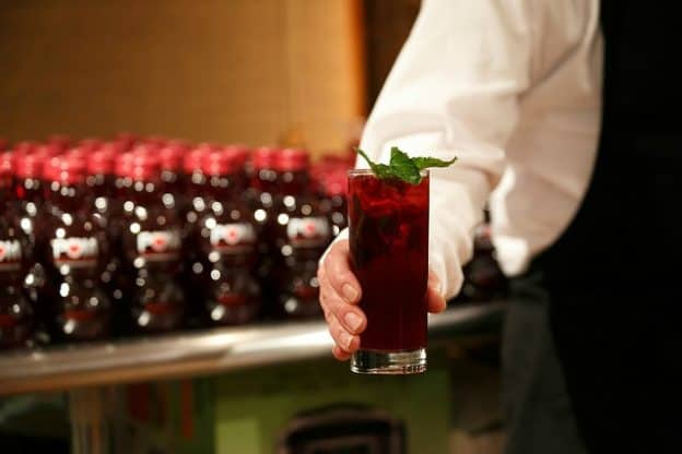 Pomegranate juice is great alone or in cocktails, mocktails, or punch