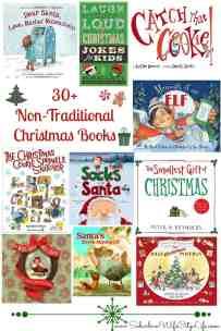 30+ Non-Traditional Christmas Books