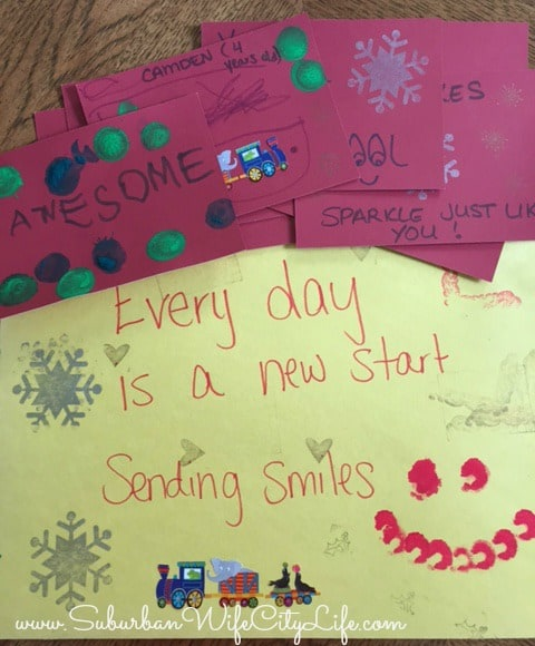 Family Volunteer Day Cheery Cards