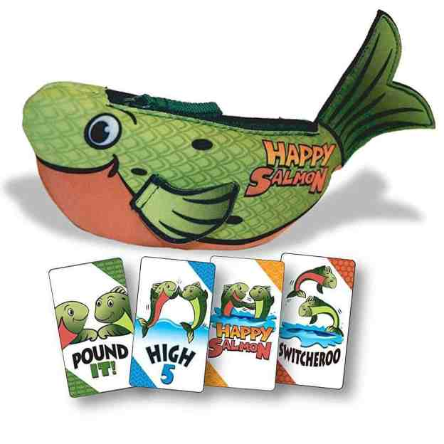 Happy Salmon Family Fun Game