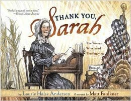 Thank You Sarah The Woman Who Saved Thanksgiving